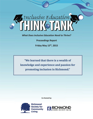 Think Tank - Report Cover